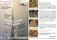 Flyer Expo Architectures de papier 2016-102